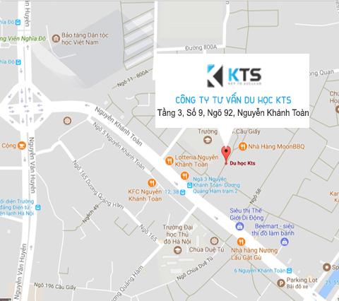 Địa chỉ Công ty du học KTS